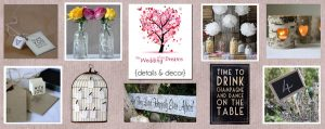wedding decorations and details available to shop online