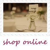 vase name card holder