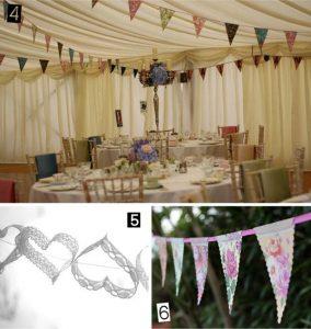 marquee wedding bunting