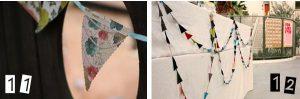 paper wedding bunting