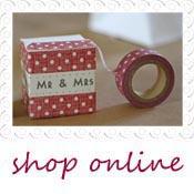 red polka dot decorative tape