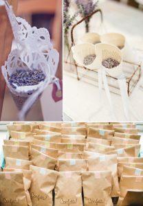 Lavender Wedding Confetti