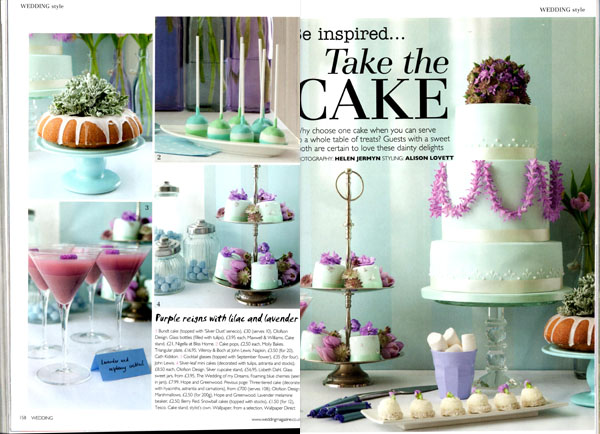 sweet jars wedding magazine