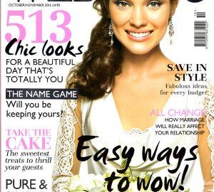 wedding magazine oct nov 2012