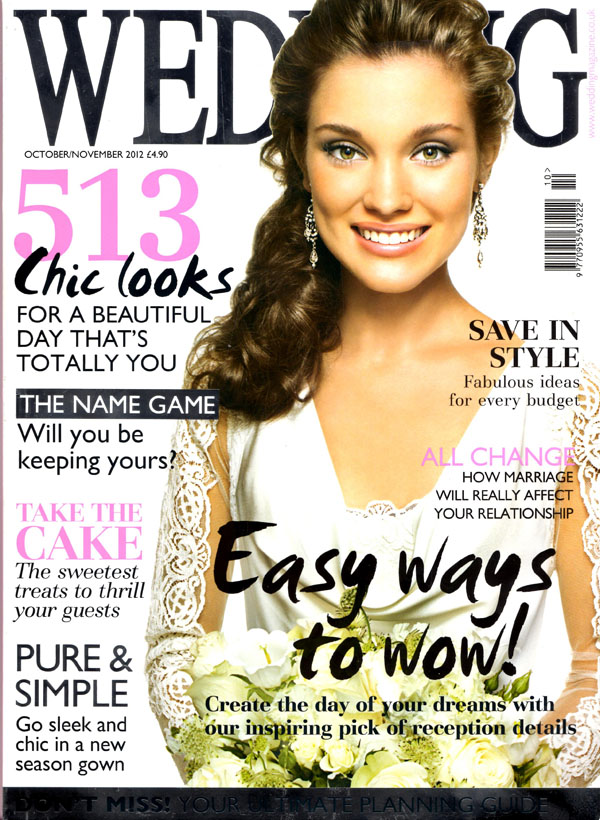 wedding magazine oct nov 2012