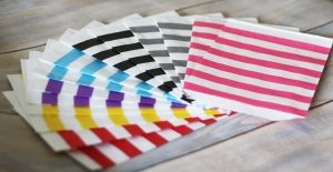 coloured paper candy bags