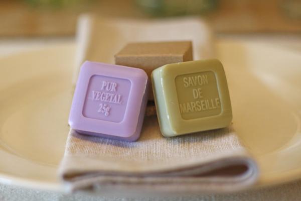 soap wedding favours