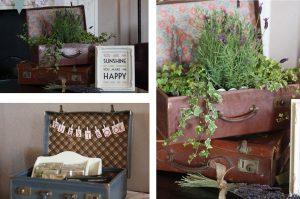 travel suitcase wedding