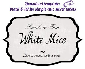 candy buffet label download free