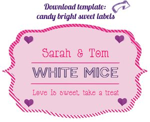 candy buffet label download free CB