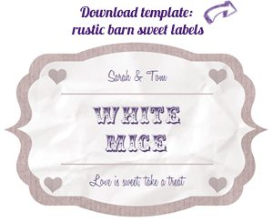 candy buffet label download free RB