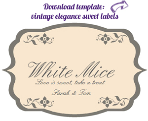 candy buffet label download free VE