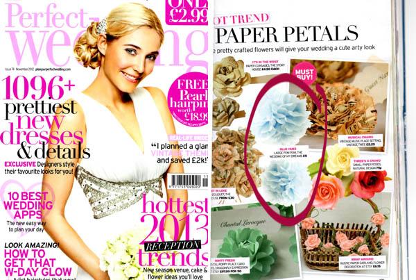 paper pom poms perfect wedding magazine