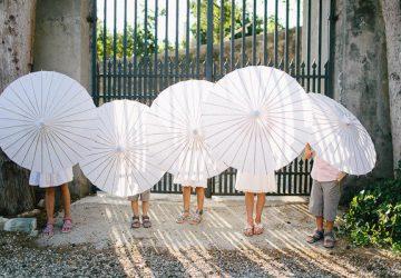 parasol wedding