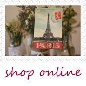 paris postcards wedding