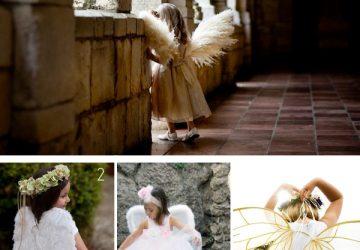 flower girl wings