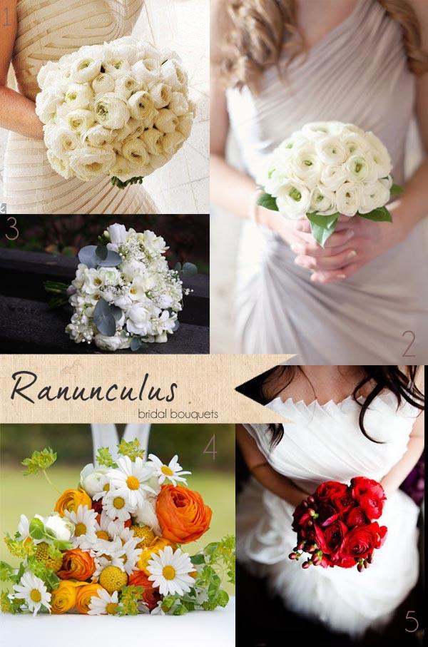 ranunculus wedding bouquets