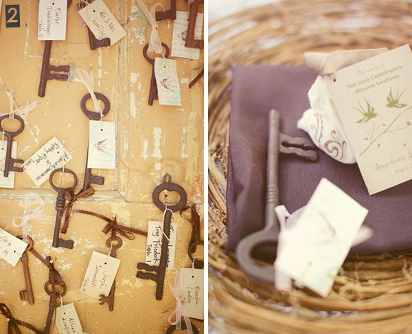 key wedding decorations copy