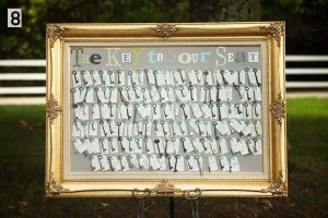 wedding table plan antique keys the key to your seat