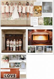 white wedding decorations and white wedding details 2