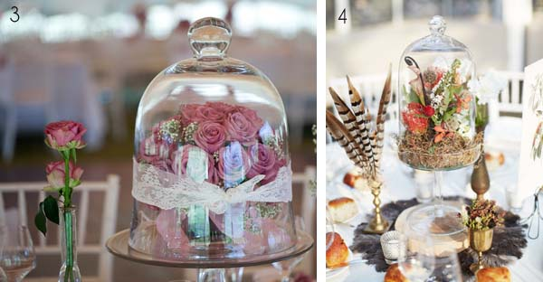 Bell Jar Decorating Ideas Prepossessing Bell Jar Wedding Ideas Wedding Table Decoration Inspiration Design Ideas