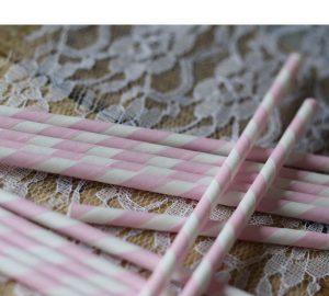pink striped paper straws stripey straws