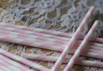 pink striped paper straws stripey straws