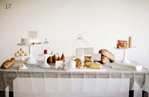 wedding cnady buffet glass bell jar