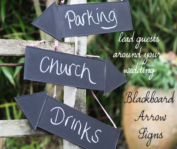 blackboard arrow signs
