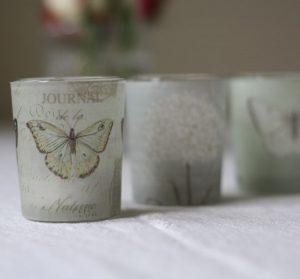 butterfly botanical tea light holders copy