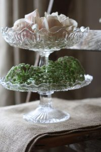 crystal glass wedding flowers Passion for Flowers