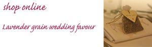 lavender wedding favour