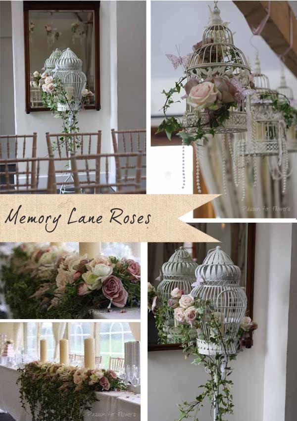 memory lane roses wedding flowers 2