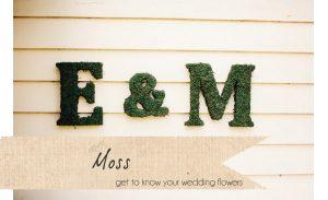 moss wedding letters