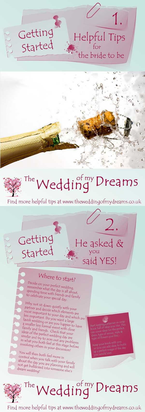 Wedding Planning Check list - Getting Started