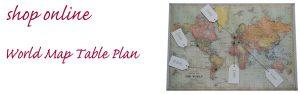 world map table plan