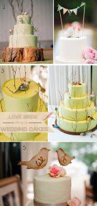 bird wedding cakes