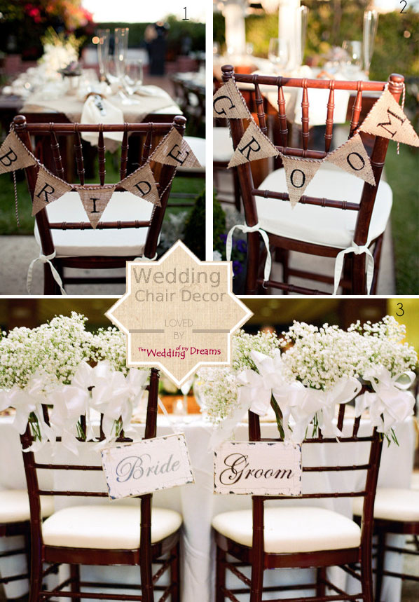 bride groom chair backs for weddings