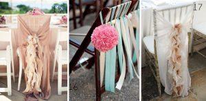 chair backs for weddings ribbons