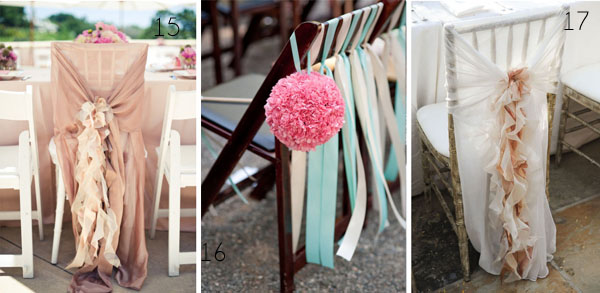 chair backs for weddings ribbons