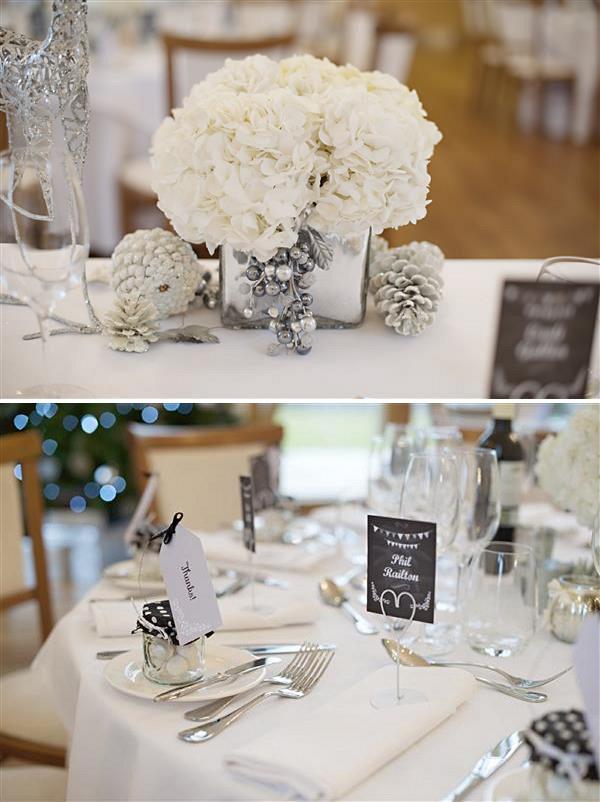 Winter Wonderland Wedding Flowers White Uk Wedding Styling Decor