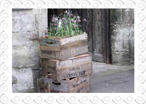Vintage Rustic Wooden Crate Bushel Crate 10
