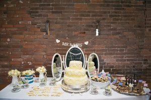 dessert table cake table wedding