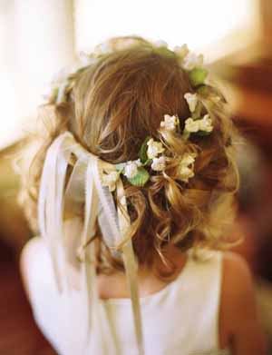 flower girl hair flower crowns circlets