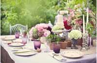 mercury silver cnalde sticks secret garden wedding decoration