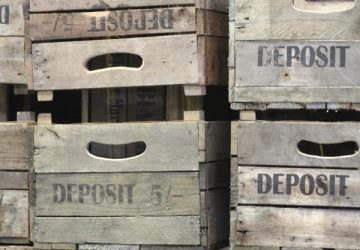 vintage apple crates wooden crates bushel crates back in stock