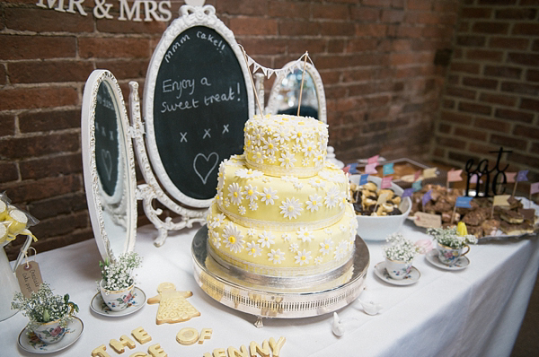 Wedding Cake Table.Wedding Cake Table Dessert Table Yellow Uk Wedding Styling Decor