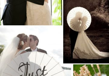 wedding parasols white lace parasols