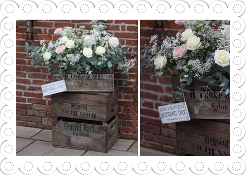 wooden crates apple boxes