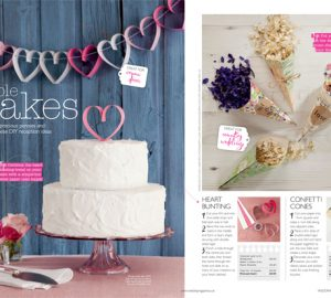 how to make paper cones for petal confetti wedding flowers magazine